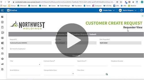 Customer Master Demo